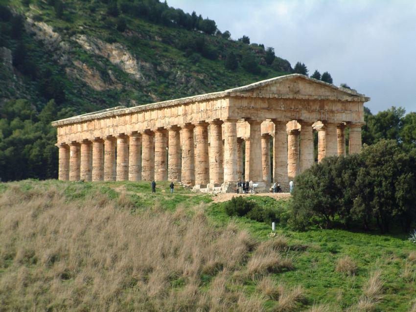 Der Tempel von Segesta, Sizilien. Foto: Josep Renalias.
